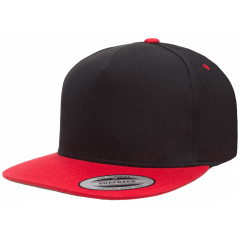 Кепка FlexFit 6007T - Classic Snapback Black/Red