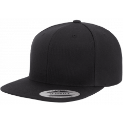 Кепка FlexFit 6089M - Classic Snapback All Black