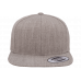 Кепка FlexFit 6089М - Classic Snapback Heather Grey