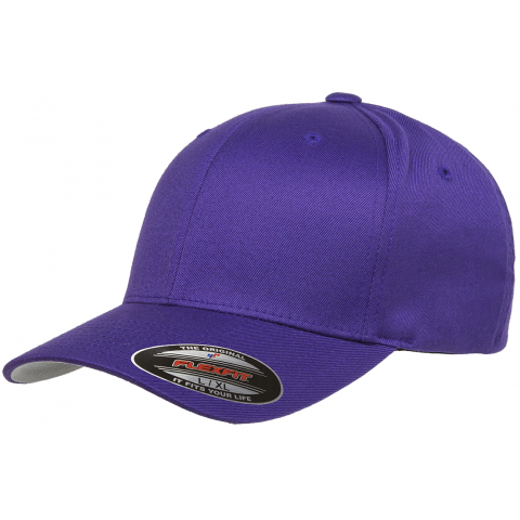 Кепка FlexFit 6277 Wooly Combed Purple