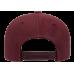 Кепка FlexFit 6789M - Curved Visor Snapback Maroon