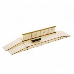 Фингерпарк Double box деревянный верх+3 кикера