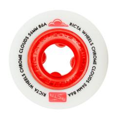 Колеса для скейта Ricta Clouds Red 86A