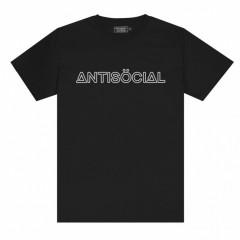 Футболка Antisocial Reflective Logo 2.0 Black