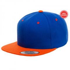 Кепка FlexFit Classic Snapback Royal/Orange