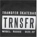 Чехол для скейтборда Transfer Rookie Black